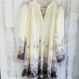 Free People Sierra Valley Printed Voile Dress